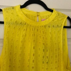 Lilly Pulitzer Dresses - New with tags Lily Pulitzer yellow sundress